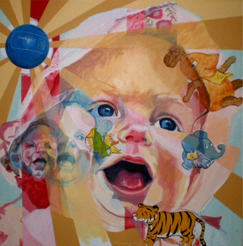Retratos originales en acr lico sobre lienzo - Acrilico sobre lienzo ...