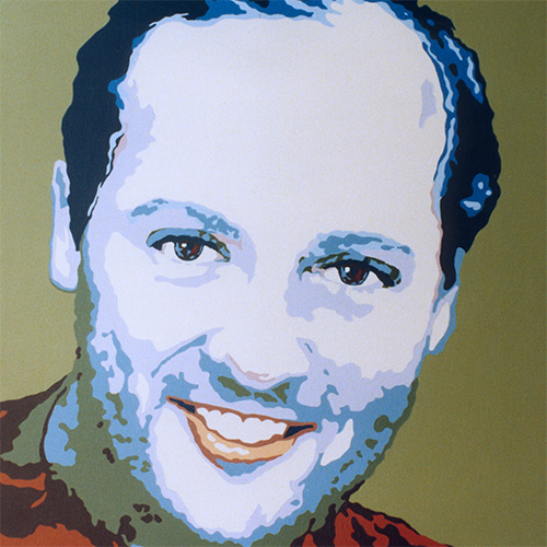 Retratos pop arte pop cuadros personalizados christian - Acrilico sobre lienzo ...
